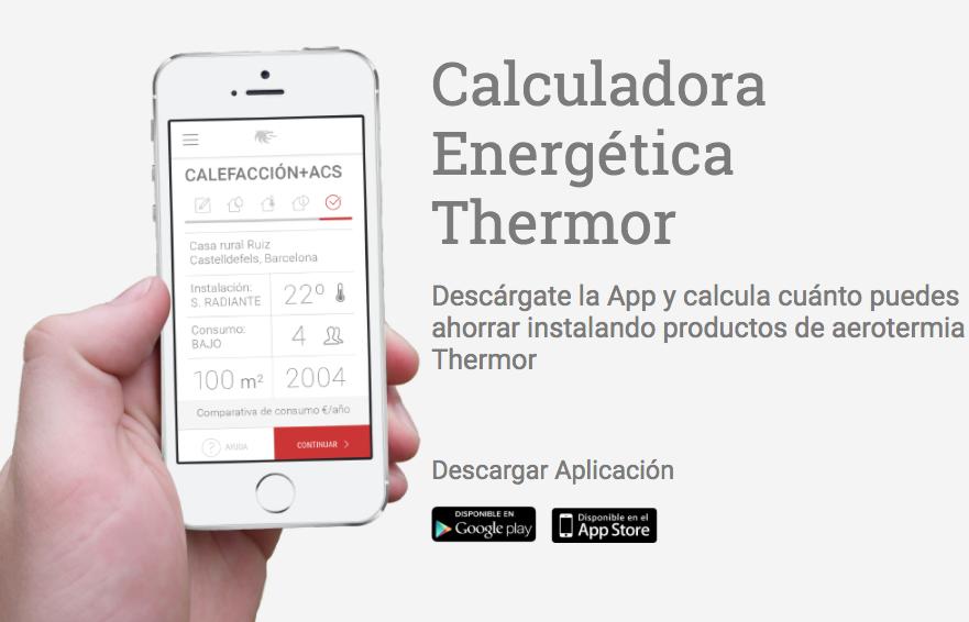 App Calculadora Thermor